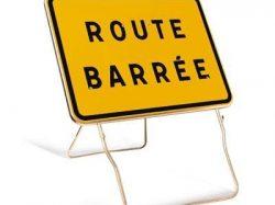 Route d'Evreux fermée du 23 au 27 avril